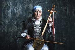 Θηλυκό εθνικό κοστούμι Στοκ Φωτογραφία