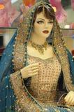 θηλυκό ινδικό μανεκέν στοκ εικόνα