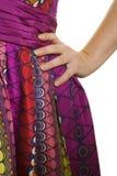 θηλυκό ισχίο χεριών Στοκ φωτογραφία με δικαίωμα ελεύθερης χρήσης
