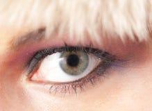 θηλυκό ματιών στοκ φωτογραφία