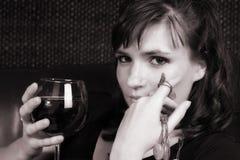 θηλυκό μοντέλο Στοκ εικόνα με δικαίωμα ελεύθερης χρήσης