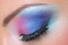θηλυκό μόδας ματιών makeup Στοκ εικόνα με δικαίωμα ελεύθερης χρήσης