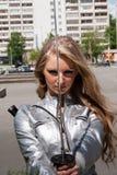 θηλυκό ξίφος Σαμουράι Στοκ εικόνα με δικαίωμα ελεύθερης χρήσης