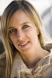 θηλυκό πορτρέτο Στοκ εικόνα με δικαίωμα ελεύθερης χρήσης