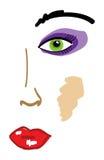 θηλυκό προσώπου ελεύθερη απεικόνιση δικαιώματος