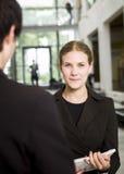 θηλυκό συνομιλίας Στοκ Φωτογραφίες