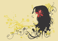 θηλυκό σχεδιάγραμμα ελεύθερη απεικόνιση δικαιώματος