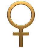 θηλυκό σύμβολο Στοκ Φωτογραφία