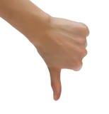 θηλυκό χέρι Στοκ Φωτογραφίες