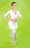 θηλυκό χορευτών Στοκ φωτογραφίες με δικαίωμα ελεύθερης χρήσης