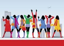 θηλυκό 4 μόδας ελεύθερη απεικόνιση δικαιώματος