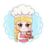 Θηλυκό Baker_8 ελεύθερη απεικόνιση δικαιώματος