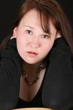 θηλυκό brunette Στοκ εικόνα με δικαίωμα ελεύθερης χρήσης