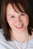 θηλυκό brunette Στοκ φωτογραφία με δικαίωμα ελεύθερης χρήσης