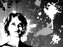 θηλυκό grunge ελεύθερη απεικόνιση δικαιώματος