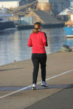 θηλυκό jogger Στοκ φωτογραφία με δικαίωμα ελεύθερης χρήσης