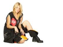 θηλυκό woker Στοκ εικόνα με δικαίωμα ελεύθερης χρήσης
