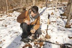 θησαυρός κυνηγιού στοκ φωτογραφία με δικαίωμα ελεύθερης χρήσης