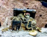 θησαυρός πειρατών Στοκ Εικόνες