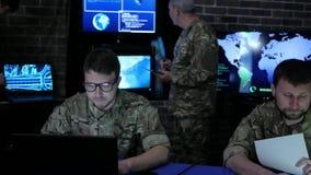 Θητεία ασφάλειας, πεπειραμένη γενική και στρατιωτική ΤΠ ομάδας απόθεμα βίντεο
