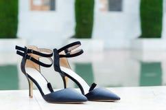 Θηλυκά παπούτσια Στοκ εικόνες με δικαίωμα ελεύθερης χρήσης