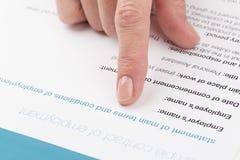 Θηλυκά σημεία χεριών σε μια σειρά Στοκ φωτογραφίες με δικαίωμα ελεύθερης χρήσης