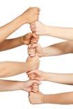 Θηλυκή βάση χεριών Στοκ φωτογραφία με δικαίωμα ελεύθερης χρήσης