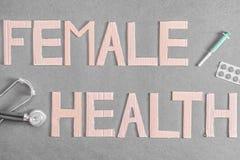 Θηλυκή υγεία Στοκ Εικόνες