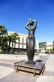 Θηλυκός αριθμός στο ύφος αρχαίου Έλληνα Στοκ Εικόνες