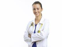 Θηλυκός γιατρός στοκ εικόνες