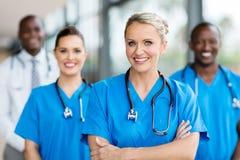 Θηλυκός ιατρός στοκ φωτογραφία