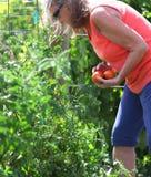 Θηλυκός κηπουρός Στοκ Εικόνα