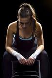 Θηλυκός μαχητής MMA Στοκ φωτογραφίες με δικαίωμα ελεύθερης χρήσης