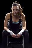Θηλυκός μαχητής MMA Στοκ φωτογραφία με δικαίωμα ελεύθερης χρήσης