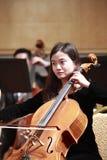 Θηλυκός μουσικός viola Στοκ φωτογραφία με δικαίωμα ελεύθερης χρήσης