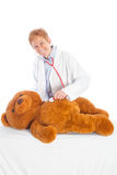 Θηλυκός παιδίατρος Στοκ εικόνα με δικαίωμα ελεύθερης χρήσης