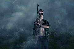Θηλυκός πολεμιστής Στοκ φωτογραφίες με δικαίωμα ελεύθερης χρήσης