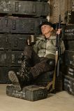 Θηλυκός στρατιώτης αγώνα Στοκ Εικόνες