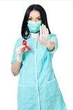 θηλυκό γιατρών Στοκ φωτογραφίες με δικαίωμα ελεύθερης χρήσης