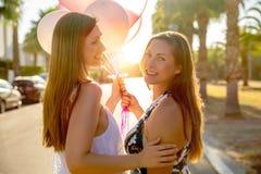 Θηλυκό ζεύγος αγάπης στοκ εικόνα με δικαίωμα ελεύθερης χρήσης