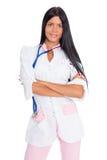 θηλυκό ιατρικό πορτρέτο γ&io Στοκ Εικόνα