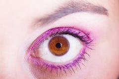 Θηλυκό μάτι Στοκ Εικόνες
