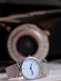 Θηλυκό μόδας wristwatch Στοκ φωτογραφία με δικαίωμα ελεύθερης χρήσης