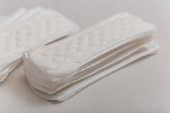 θηλυκό προϊόν υγειονομι&kap Στοκ Φωτογραφίες