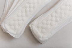 θηλυκό προϊόν υγειονομι&kap Στοκ εικόνες με δικαίωμα ελεύθερης χρήσης