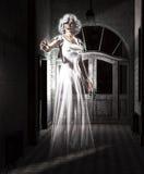 Θηλυκό φάντασμα διανυσματική απεικόνιση