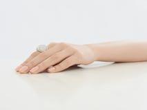 Θηλυκό χέρι ομορφιάς στοκ φωτογραφία