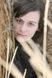 Θηλυκό Brunette στοκ φωτογραφίες με δικαίωμα ελεύθερης χρήσης