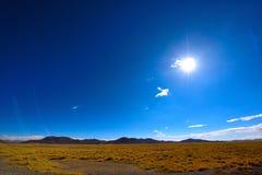 Θιβέτ στον ήλιο ρύθμισης Στοκ φωτογραφίες με δικαίωμα ελεύθερης χρήσης