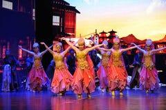 Θιβετιανά ευπρόσδεκτα χορός-μεγάλα σενάρια show† κλίμακας ο δρόμος legend† Στοκ εικόνες με δικαίωμα ελεύθερης χρήσης
